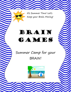 Summer Camp for your Brain