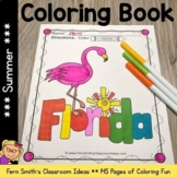 Color For Fun - Summer - Coloring Pages - Printables