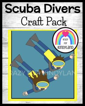 Summer / Beach / Ocean Craft: Scuba Diver Swim Kids