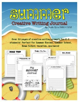 Summer Creative Writing Journal K-2