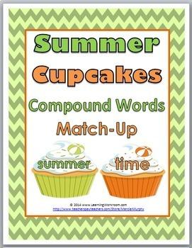 Compound Words - Summer Theme - Summer Activity