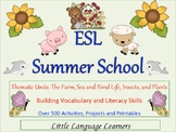 Summer School Thematic Units Full of Fun Learning Activities