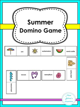 Summer Domino Game