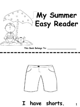 Summer Easy Reader