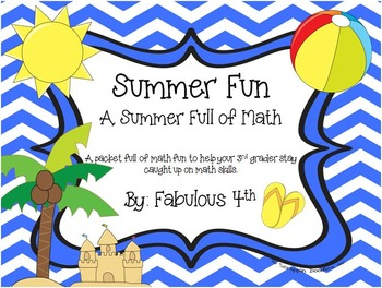 Summer Fun {A Summer Full of Math}