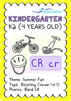 Summer Fun - Bicycling: Blend CR - K2 (4 years old)