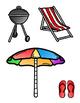 Summer Fun File Folder Game