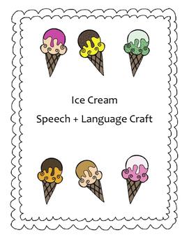 Summer Fun Ice Cream Craft