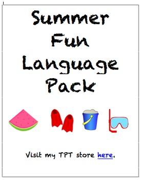 Summer Fun Language Pack