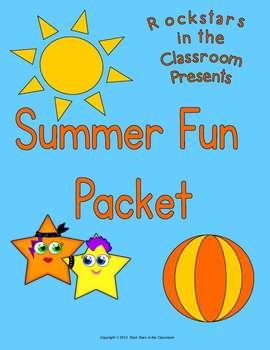 Summer Fun Packet