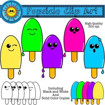 Summer Fun Popsicle Clip Art