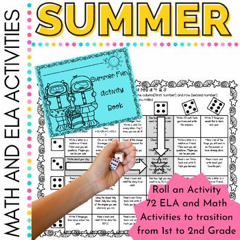 Summer School Fun Summer Fun Roll an Activity for First Grade