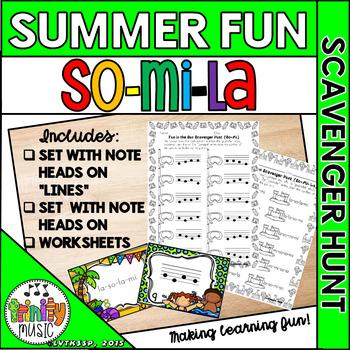 Summer Fun Scavenger Hunt (Mi-So-La)