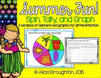 Summer Fun Spin, Tally & Graph