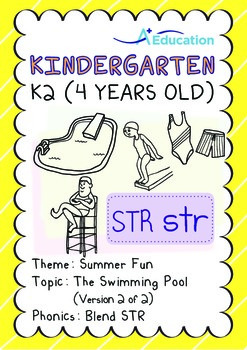 Summer Fun - The Swimming Pool (II): Blend STR - K2 (4 years old)