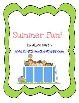Summer Fun Unit!