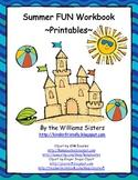 Summer Fun Workbook ~ Kindergarten Review