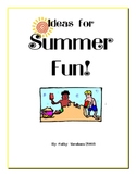 Summer Fun curriculum