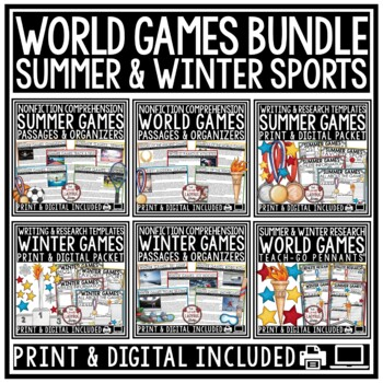 Summer Games Activity Poster