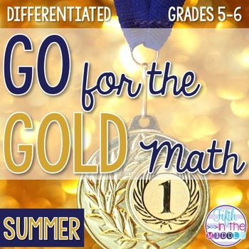 Summer Games Differentiated Math