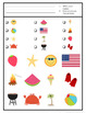 {Freebie} Summer I Spy Game: 3 levels of difficulty
