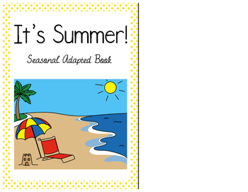 Summer - Interactive Adapted book
