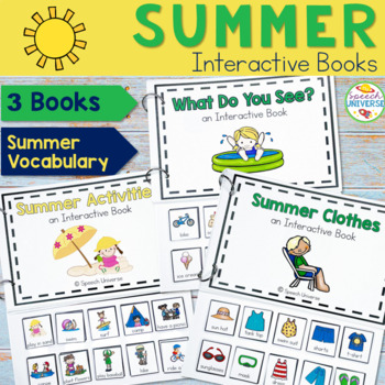 Summer Interactive Books