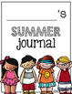 Summer Journal Writing Prompts {2nd, 3rd, 4th Grade}