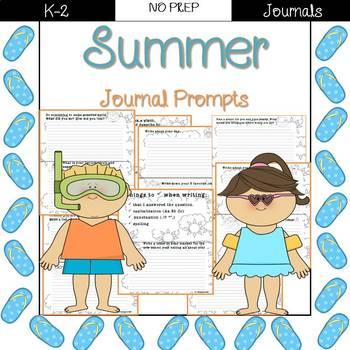 Summer Journal Prompts