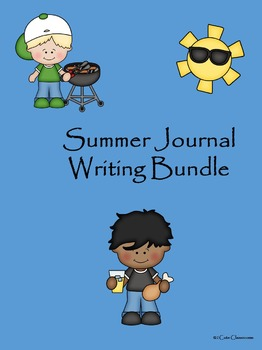 Summer Journal Writing Bundle