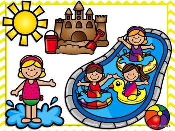 Summer Kids Clipart