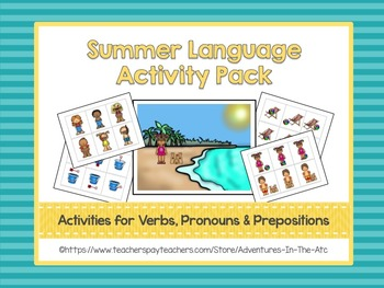Summer Language Activity Pack