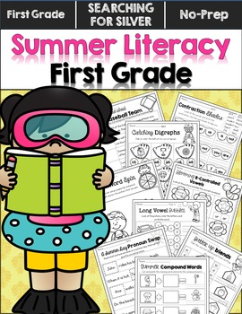 Summer Literacy No-Prep {First Grade}
