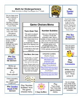 Summer Math Activities to Help You Prepare for 1st Grade Math