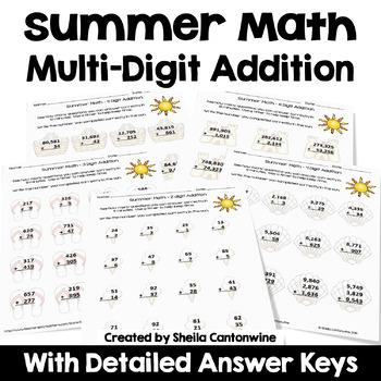 Summer Math - Addition