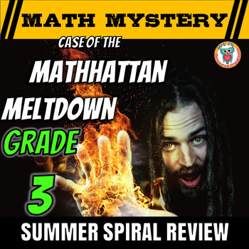 Summer Math Mystery Activity: Fractions Area Subtraction M