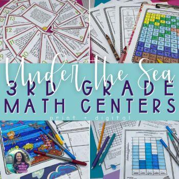 Summer Math:  Summer Math Hidden Pictures, Hidden Message