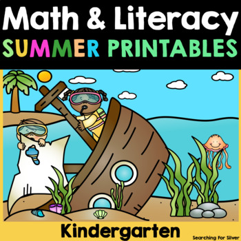 Summer Review Math No-Prep {Kindergarten}