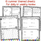 Summer Math Practice for Rising 6th Graders (Review of 5th