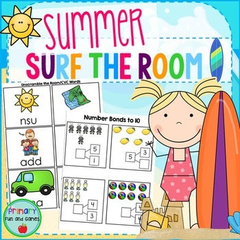 Summer Surf the Room {Work the Room}