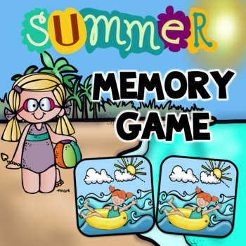 Summer  Memory Game Activity