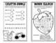 Summer Mini Puzzle Book for First Graders