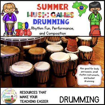 Summer Music Games 14 Rhythm Drumming Bundle