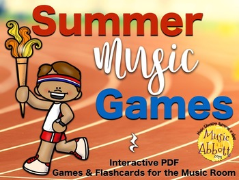 Summer Music Games {rest set}