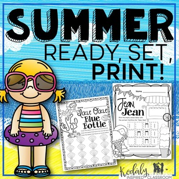 Summer Music Printables {Ready Set Print}