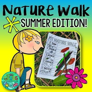Summer Nature Walk FREEBIE
