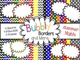 Summer Nights Primary Set-Chevron &Polkadots backgrounds w