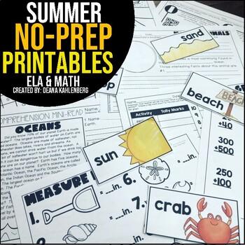 Summer {No Prep Practice}
