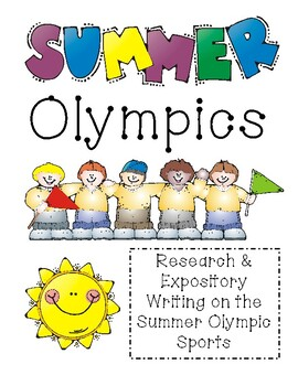 Summer Olympic Sports: Research & Expository Writing (2nd-3rd)