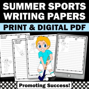 Summer Olympics 2016 Sports Writing Paper